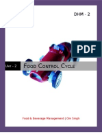 Food Control Cycle