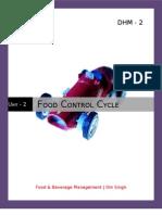 Food Control Cycle