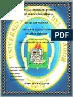Grupo 6 Métodos Indirectos y Directos Para La Identificación de Parasitos Intraintestinales y Extraintestinales (1)