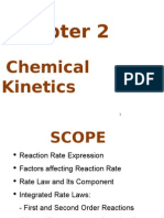 Chapter 2 Chemical Kinetics