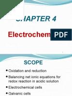 Chapter 4 - Electrochemistry