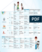 Programa del IX Festival Internacional de Cine Infantil 2014