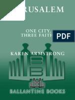 Armstrong, Karen - Jerusalem (Knopf, 1996)