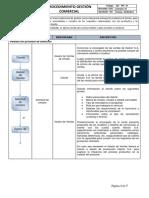 Procedimiento Gestión Comercial - V 01