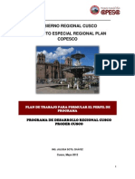 Plan de Trabajo-Programa de Turismo Cusco 19 6 12