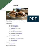 Ricotta Beefburger