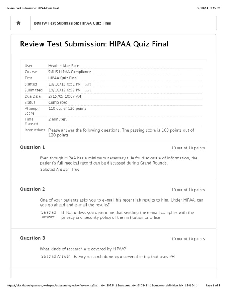 It's just an image of Monster Printable Hipaa Quiz