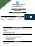 Pce404 Metodologia de La Inv. Educ. II 2 de Mayo 2014