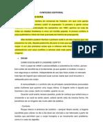 Conteúdo Editorial