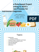 Nutritional Diagnosis Presentation