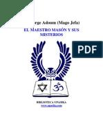 Jorge Adoum - El Maestro Mason y Sus Misterios
