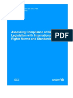 Assessing Compliance of National Legislation With International Human Rights Norms and Standards