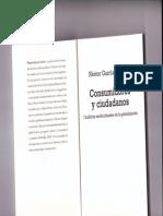 Nestor García Canclini - Consumidores y Ciudadanos
