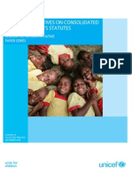 Global Perspectives On Consolidated Children's Rights Statutes