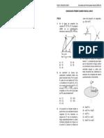 Examen Cepre 2008-II POR LA UNI