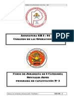 Gb i 01 Comando de Las Operaciones II