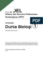 RPP Dunia Biologi SMA1