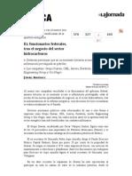 La Jornada- Ex Funcionarios Federales, Tras El Negocio Del Sector Hidrocarburos