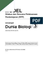 RPP Dunia Biologi SMA3