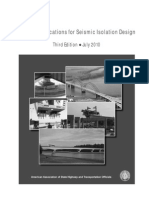 Guide Specifications for Seismic Isolation Design CONTENTS