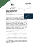 La Jornada- Hogares Mexicanos Gastan en Pagar Deudas Casi 15% de Lo Que Ganan