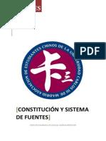 Apuntes de Costitucion y Sistema de Fuentes