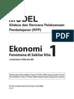 RPP Fenomena Ekonomi SMA1