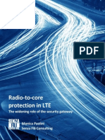 Radio-To-core Protection in LTE
