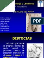 Distocia Del Parto - Presentacion
