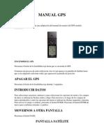 Manual de GPS Garmin