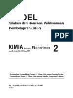 RPP Kimia Eksperimen SMA2