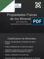 Propiedades Minerales