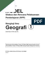 RPP Mengkaji Geografi SMA1