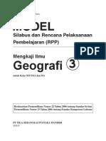 RPP Mengkaji Geografi SMA 3