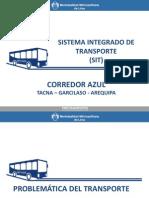 Corredor Azul - Protransporte