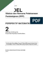 RPP Perspektif Matematika SMA2 IPS-Bahasa