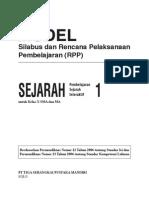 RPP Sejarah Interaktif SMA1