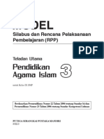RPP Teladan Utama PAI SMP3