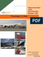 Procurement In_China(Draft Version)