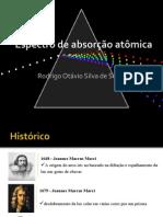 Espectro de Absorção Atômica