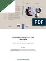 índice. LA GENERACIÓN INTERACTIVA EN ESPAÑA