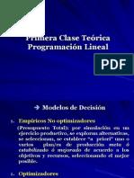 Programacion Lineal Teorico 2010
