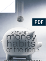 7 Money Habits of the Rich by PAUL ROBINSON