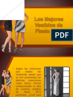 Los Mejores Vestidos de Fiesta 2012