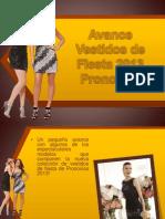 Avance Vestidos de Fiesta 2013 Pronovias