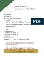 Ejercicio de Tablas de Verdad.docx