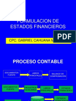 Formulacion de Estados Financieros 2013