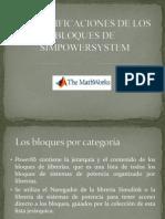 2 Especificaciones de Los Bloques de Simpowersystem