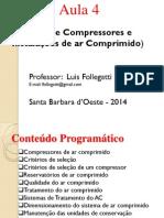 Aula 4- Compressores e Instalações de Ar Comprimido