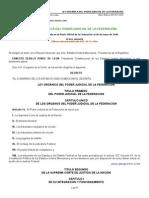 Ley Organica Del Poder Judicial de La Federacion